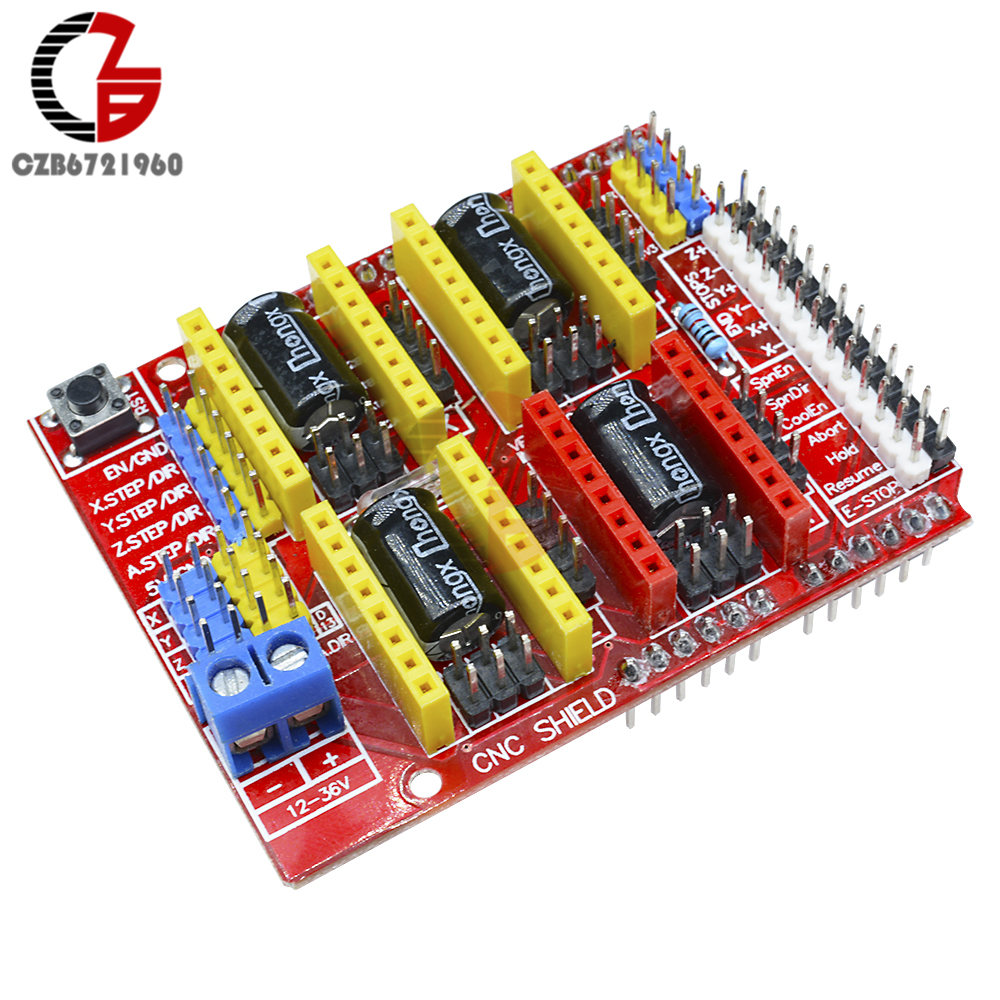 V3.0 Engraver 3D Printer New CNC Shield Expansion Board A4988 Driver for Arduino
