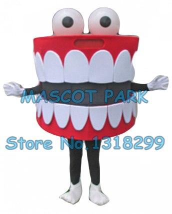 Dents mascotte costume offre spéciale dessin animé bouche dent santé dentaire thème anime cosply costume carnaval déguisements kits 2834