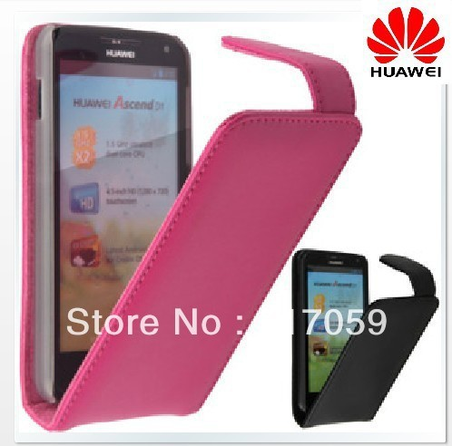 HK POST !!! top quality cowhide leather case mobile cover for Huawei U8950D T8950 G600 U9508