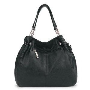 Image 4 - 2019 taschen Für Frauen Große Luxus Handtaschen Damen Hand Taschen Luxus Marke Echtem Leder Handtaschen Lässig Umhängetasche Weibliche F 386