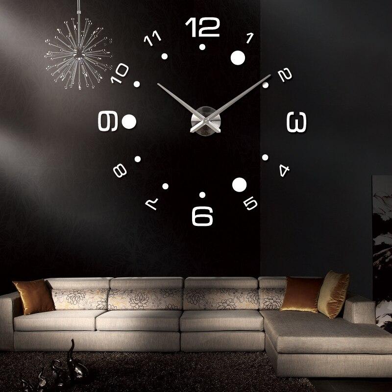 2019 νέα ρολόι τοίχου diy ρολόγια reloj de pared - Διακόσμηση σπιτιού - Φωτογραφία 5
