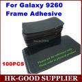 100 unids/lote Marco Adhesivos Adhesivos Marco de la Pantalla Para Samsung Galaxy i9260