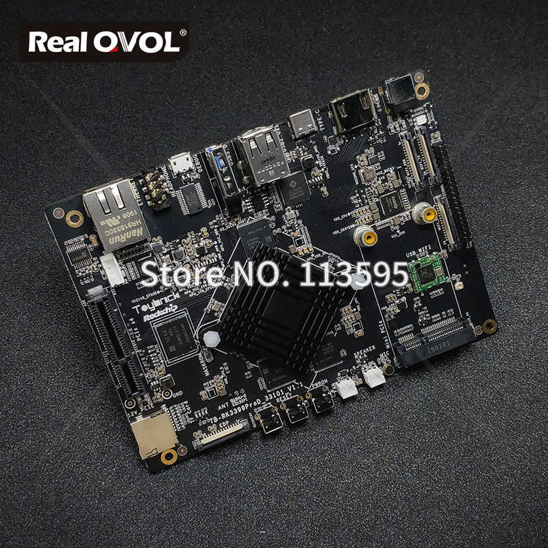 RK3399Pro AI demoboard for Artificial Intelligence Deep Learning Development  AI Processor NPU Performance up to 2.4TOPs