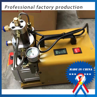 9.19High Pressure 30mpa Electric Air Pump Compressor Water Cooled Single Cylinder