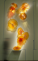 Free Air Shipping Porch Light Creative Hallway Murano Glass Wall Plates