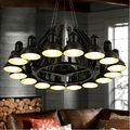 Varies Colors Modern 6/ 9/ 12/ 16 Arms Spider Pendant Lamp Scaleable Lighting Fixture