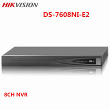 Hikvision 8CH CCTV NVR DS-7608NI-E2 HD Up to 6MP Camera ONVIF HDMI VGA With 2 HDD SATA upgradable Surveillance Security System