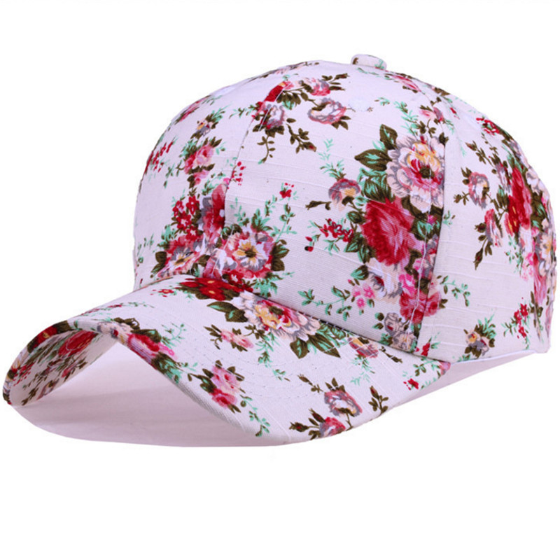 printed baseball caps no minimum embroidered order ireland new women floral font print