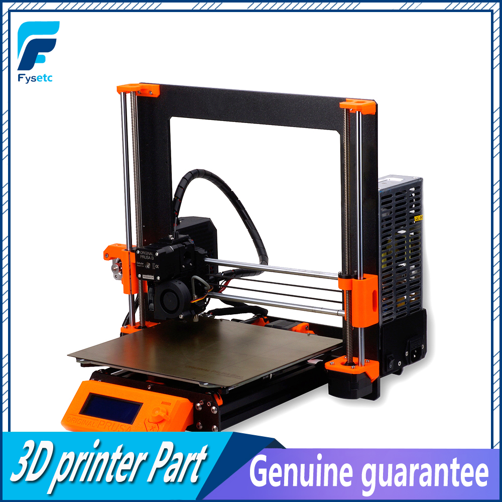Clone Prusa i3 MK3S Impressora Impressora Prusa i3 MK3 Para MK3S 3D Atualização Kit Completo Kit DIY MK2.5/MK3 /MK3S 3D Impressora