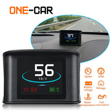 GEYIREN P10 Automobile On-board Computer Car Digital OBD Driving Computer Display T600 GPS heads up display HUD For Any Car 2018