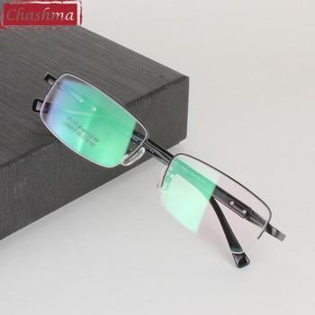 Chashma 티타늄 초경량 안경 프레임 안경 근시 안경 안경 프레임 남성용