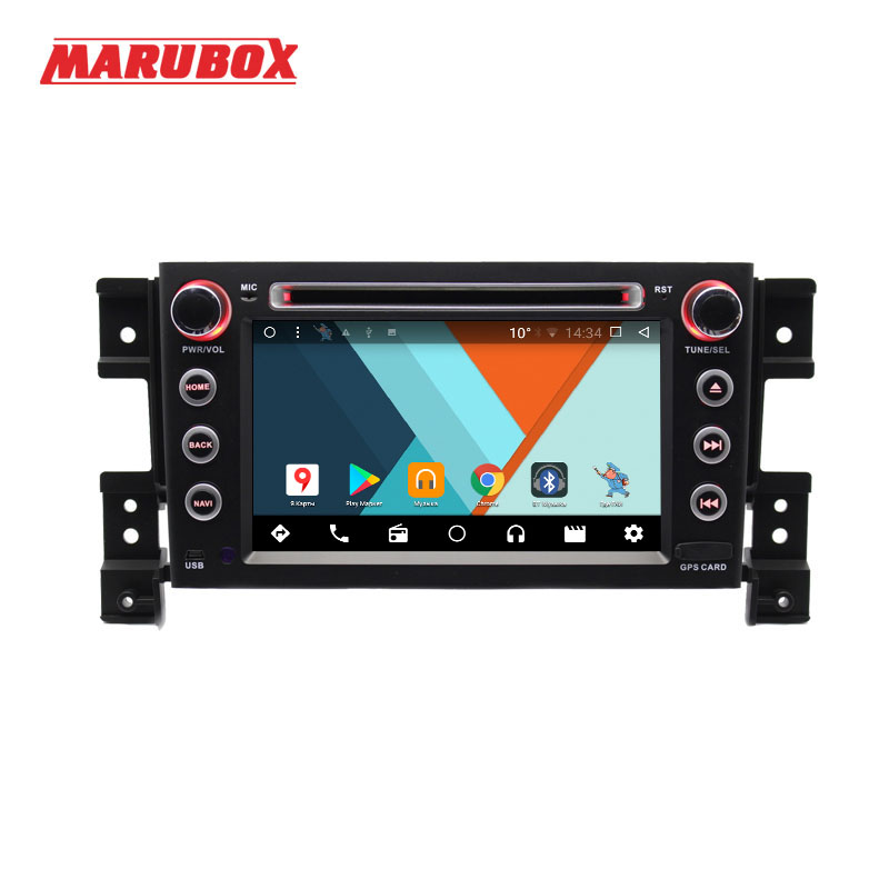 MARUBOX 7A905MT3 Voiture Lecteur Multimédia pour Suzuki Grand Vitara, Quad Core, Android 7.1, GPS, Radio, bluetooth, DVD