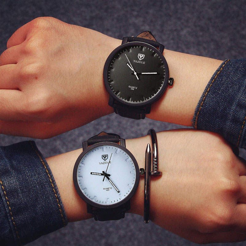 YAZOLE Fashion Quartz Watch Women Watches Ladies Brand Wristwatch For Female Wrist Clock Hodinky Montre Femme Relogio Feminino rigardu fashion female wrist watch lovers gift silicone band creative wristwatch women ladies quartz watch relogio feminino 25