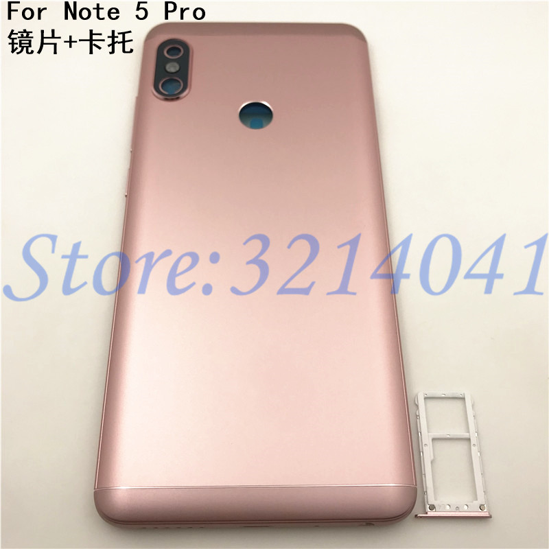 Original For Xiaomi <font><b>Redmi</b></font> <font><b>Note</b></font> <font><b>5</b></font> <font><b>Pro</b></font> <font><b>Battery</b></font> <font><b>Cover</b></font> Rear Door Housing Back Case Replacement Phone <font><b>Redmi</b></font> <font><b>note</b></font> <font><b>5</b></font> <font><b>Pro</b></font> <font><b>Battery</b></font> <font><b>Cover</b></font> image