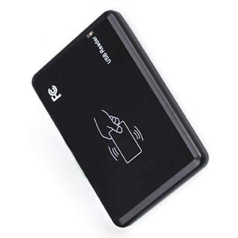 1 Pcs 125Khz USB RFID כרטיס חכם קורא נייד קירבה ללא מגע חיישן EM4100 UY8