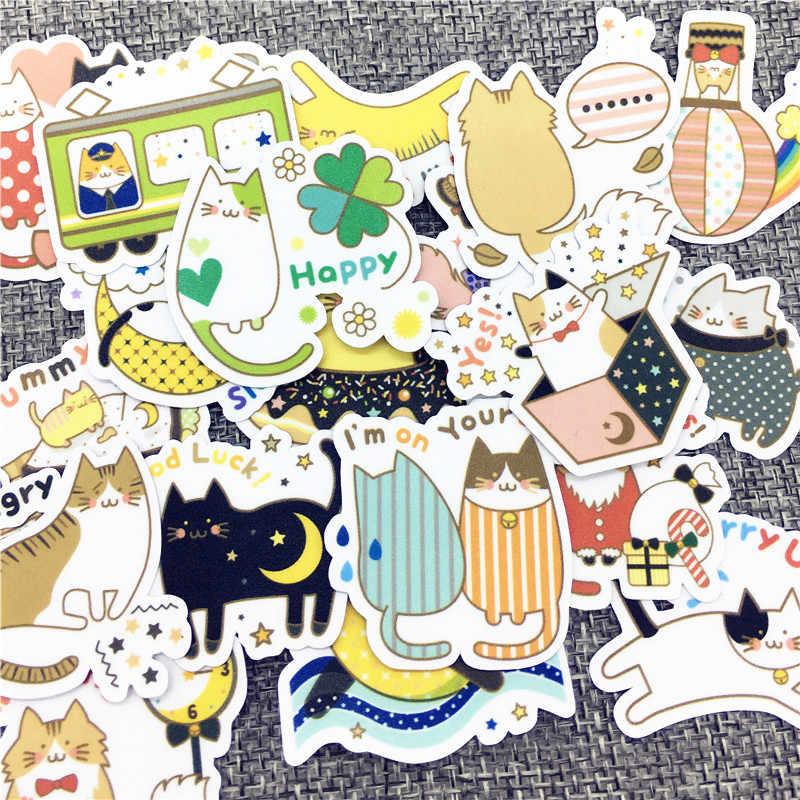 40 PCS Anime Hewan Stiker Kepribadian Kreatif Tahan Air Anak Mainan Laptop Sticker untuk Jari Skateboard Mobil Styling DEC