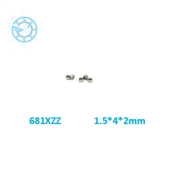 2017 new 682ZZ 682 682Z deep groove ball bearing 2x5x2.3mm miniature bearing full complement 681 681zz deep groove ball bearing 1x3x1mm miniature bearing 1 3 1mm full complement