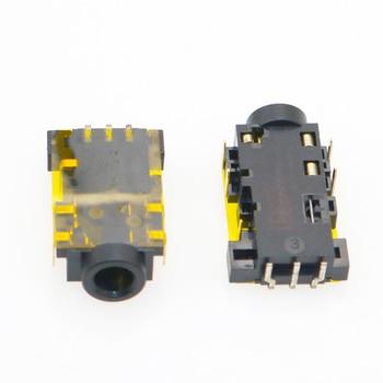 1pcs 3.5mm Audio Jack 3.5 Port for Acer Aspire 2930 3935 4810 4830 N55SF N55SL G75 8Pin Headphone Microphone Socket CONNECTOR