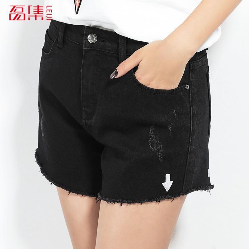 Online Get Cheap Womens Elastic Waist Denim Shorts -Aliexpress.com ...