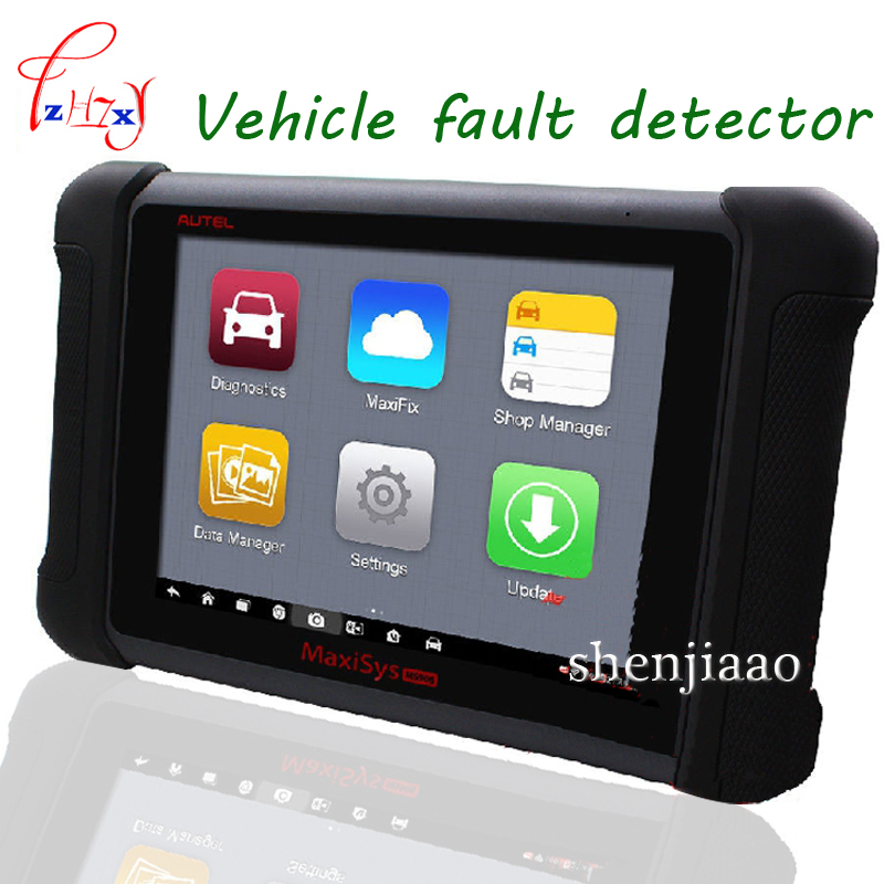 1pc Autel maxisys ms906 8 LED android 4.4.2, kitkat auto diagnostic scanner next generation autel maxidas online update machine ...