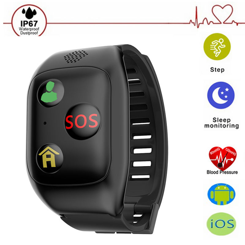 F08 SOS GPS Smart Wristband Heart Rate Blood Pressure Smart Band Support SIM Card Smart Bracelet for IOS Android new talkband bluetooth smart bracelet talk smart with sos call gps gsm lds heart rate blood pressure band for elderly kids gift