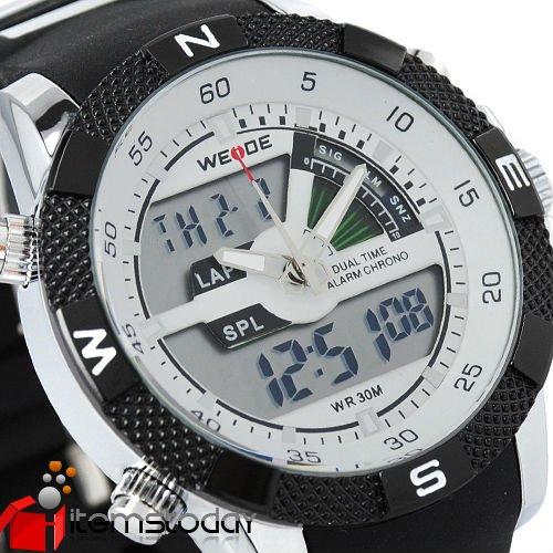 люди цифровой и аналоговый спорт дайвинг кварцевые наручные часы iw2601