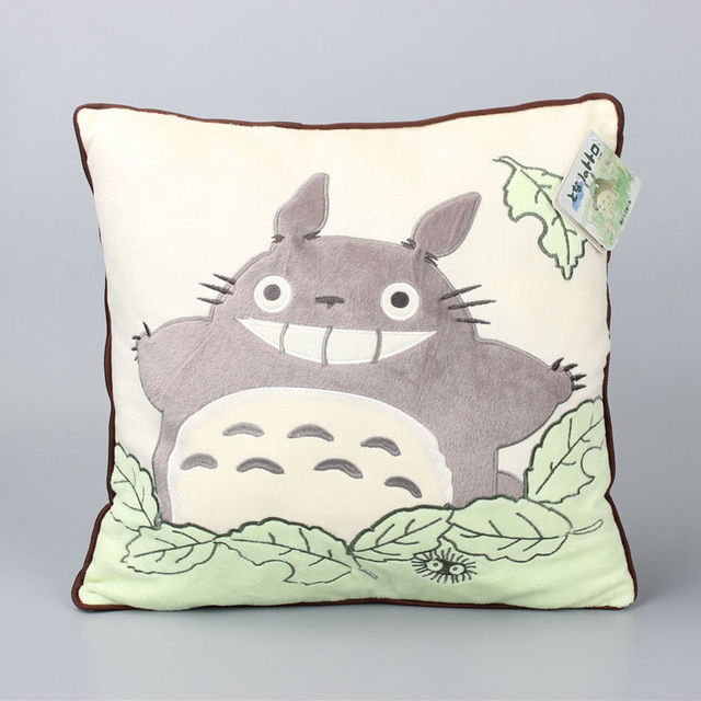 My Neighbor Totoro Plush Pilllow Cushion Soft Stuffed – 2 Colors Availables