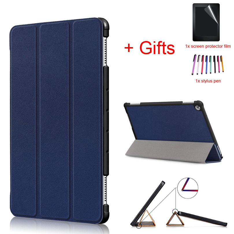 """Auto Sleep/Wake Cover for Huawei Mediapad M5 lite 10 Slim Case for Huawei MediaPad M5 lite 10 BAH2 W19/L09/W09 10.1"""" Tablet