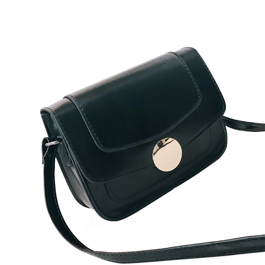 New Style Womens Fashion Flap Bag Patent Leather Broadband Crossbody Shoulder Bag Solid Colour Hasp Messenger Bag for women S