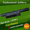 Batería del ordenador portátil para acer aspire 5742z jigu 5733z 5749 5736g 5736z 5741 5741g 5741z 5742 4741-6c