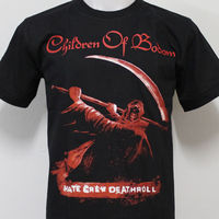 CHILDREN OF BODOM Hate Crew Deathroll T Shirt 100 Cotton Size S M L XL 2XL