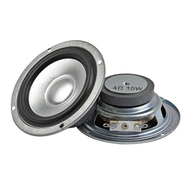 AIYIMA 2 piezas portátil de 3 pulgadas de columna altavoces de Audio 4Ohm 10 W Tweeters Bluetooth Estéreo Hifi altavoz Multimedia