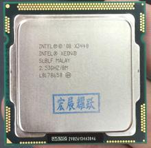 Процессор Intel Xeon x3440 quad-core (8 м Кэш, 2.53 ГГц) LGA1156 Desktop Процессор 100% работает должным образом настольный процессор