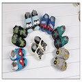 Nuevo 2016 de la manera zapatos de bebé para las muchachas hechas a mano bebé deisgner cuero de vaca zapatos primer caminante del bebé 0-24month