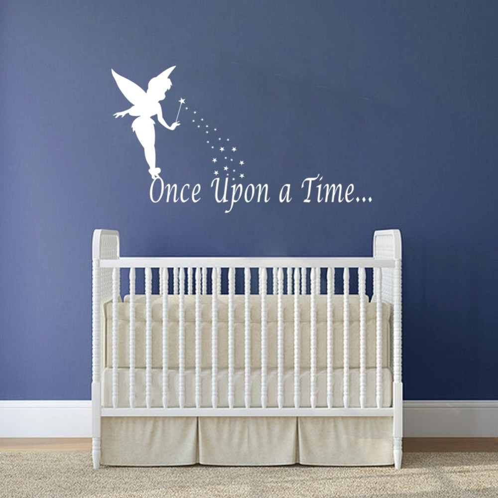 Once Upon A Time Fairy Wall Stickers Home Decorations Diy Removable