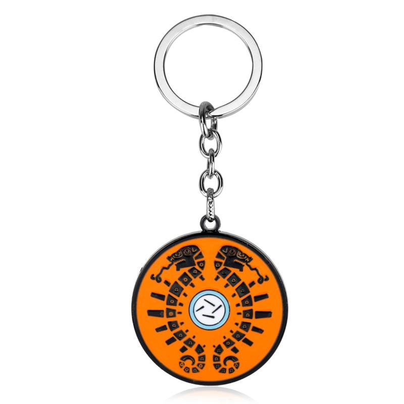 HANCHANG Fashion Game The Legend of Zelda Keychain Snake Totem Metal Pendant Keychain Keyring Car Key Bag Chaveiro Keychain Gift