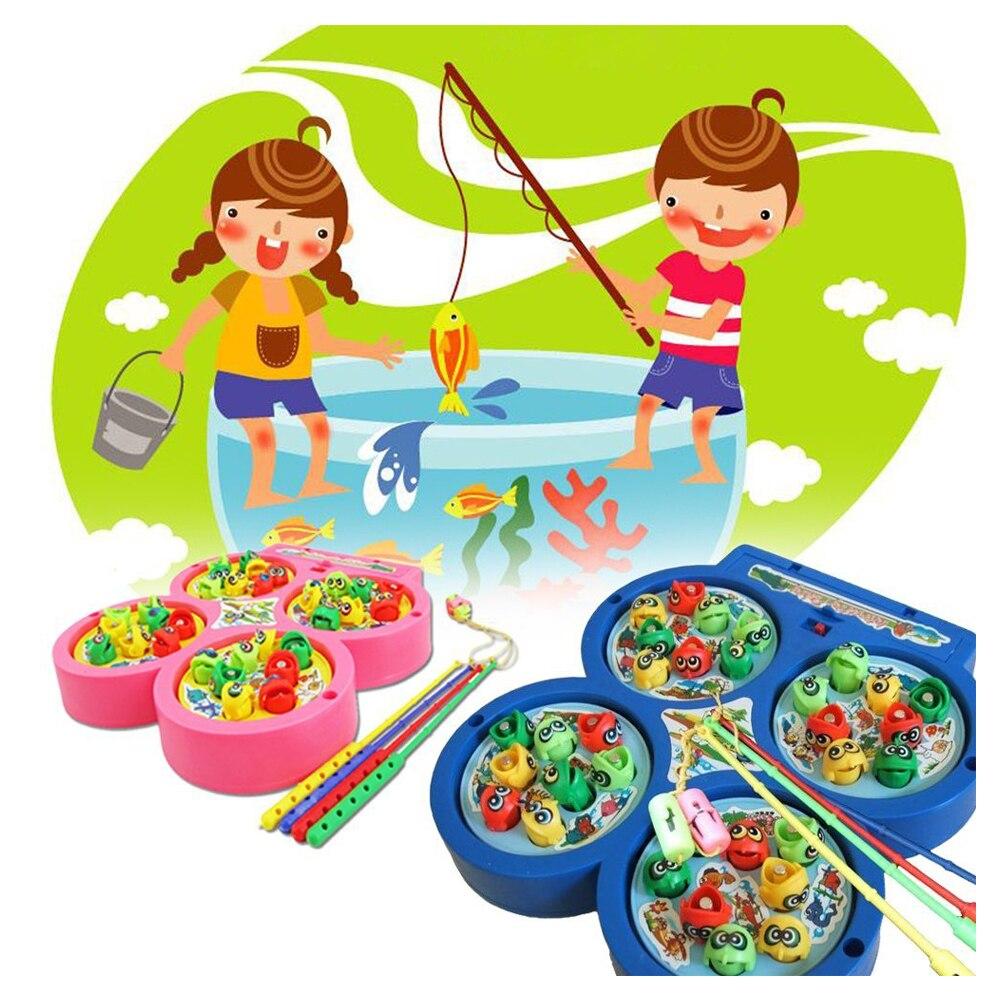 KEOL Электрический вращающегося магнитного магнит рыбалка Малыш Дети развивающая игрушка в подарок игры идут игра рыбалка