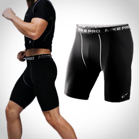 Znoj hlače podupiranje kratkih rukava hlače muškarci košarka nogometni fitness dotiče