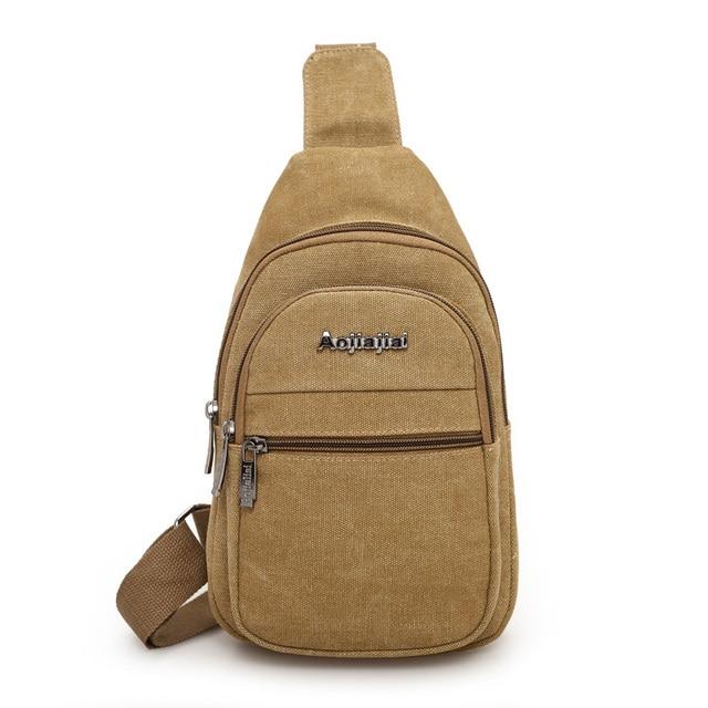 Contratado joker pure color Peito pacote 100% algodão oferta Especial saco crossbody pequena bolsa de viagem de lazer Dos Homens e das mulheres saco