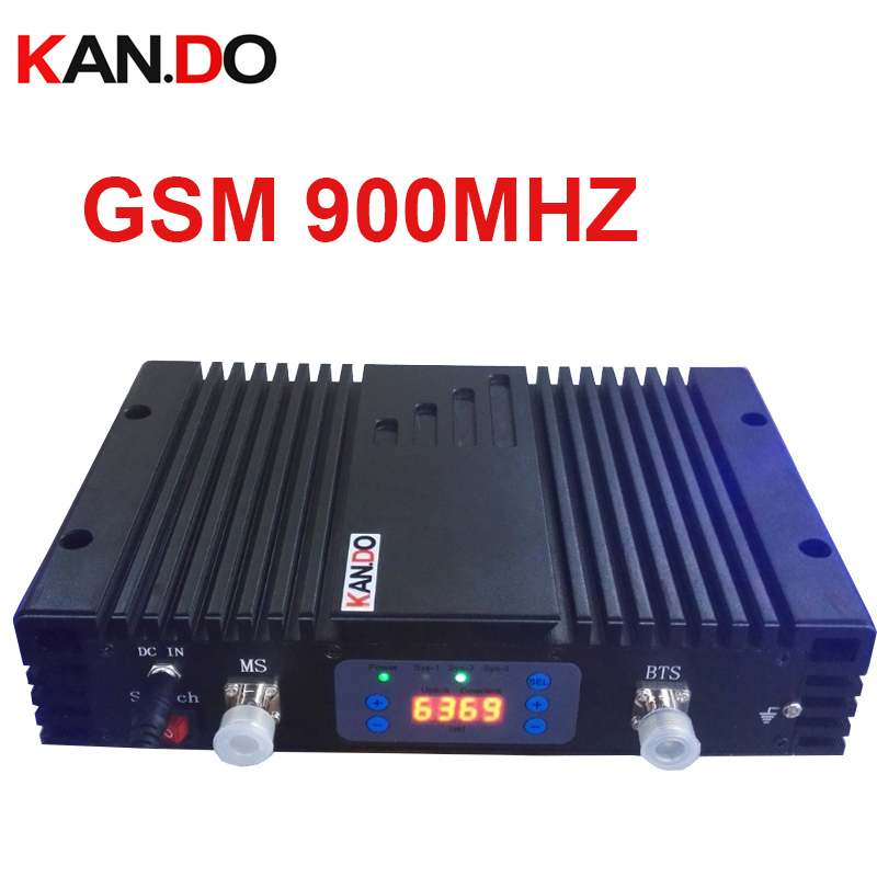 No Interfer To Base Station 70dbi GSM Repeater AGC/MGC GSM 900MHz Signal Booster GSM BOOSTER Repeater HIGH QUALITY