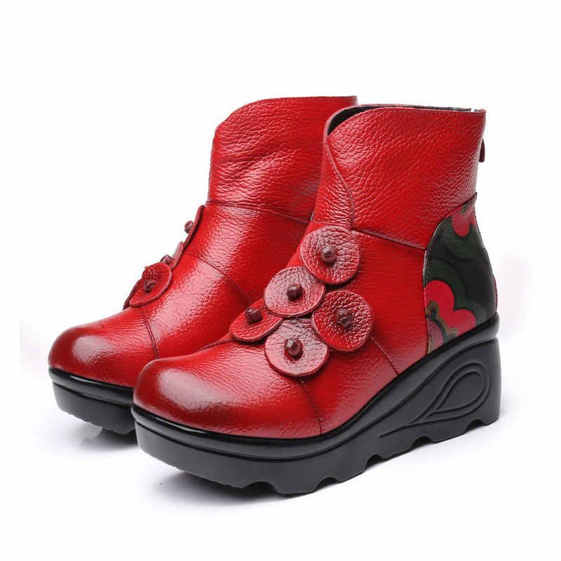 Xiuteng Kar Botları Kadın Kış Ayakkabı Peluş Kadın Boot Yüksek Kalite yarım çizmeler 2019 Sıcak Platformu Sıcak Patik Kadın