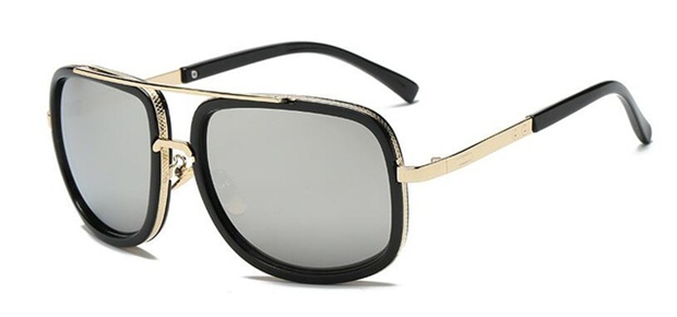 HDTANCEN nowe mody duże okulary przeciwsłoneczne męskie