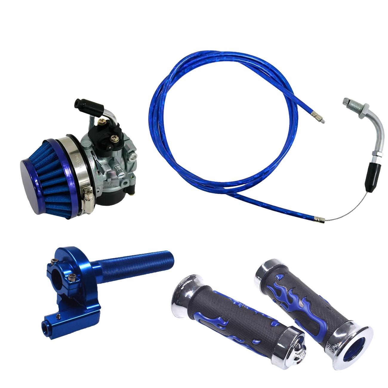 Blue 130cm Throttle Line Fit 49cc 60cc 66cc 80cc Engine Motorized Bike