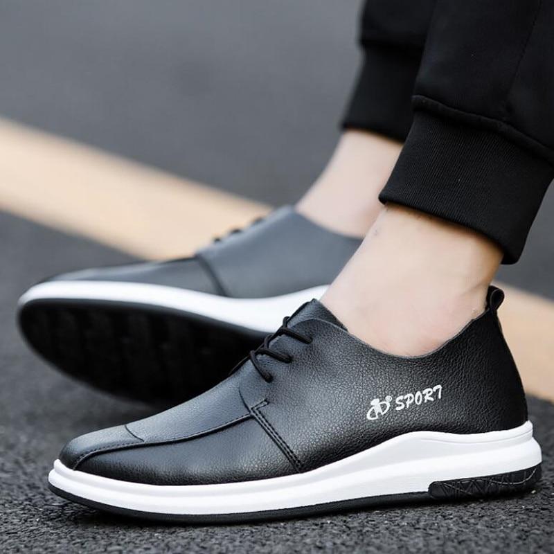 2019 Conseil Tendance Respirant Chaussures De Et blanc Mode Coréenne  Angleterre Printemps Nouvelle Hommes D été ... 7a0ca5b1d145