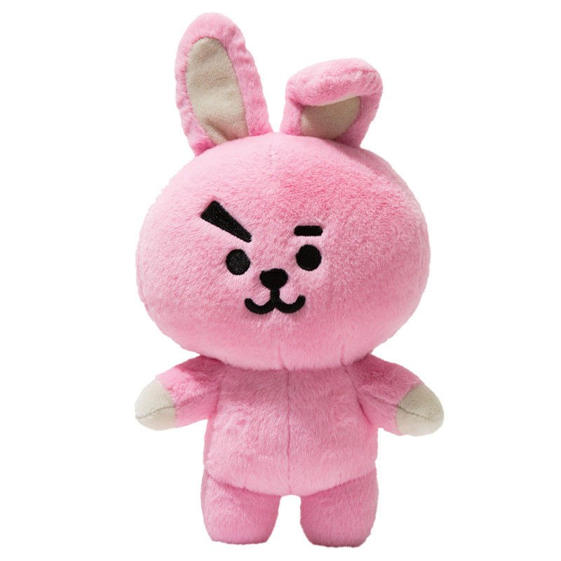 New Kpop Bangtan Boys Bts Bt21 Vapp Same Pillow Plush Cushion Warm Bolster Q Back Soft Stuffed Doll 25 Cm Tata Cooky Chimmy Strong Resistance To Heat And Hard Wearing Novelty & Special Use Costume Props