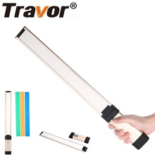 Trevor L2 Handheld LED stick Photography light studio Light With 18650 Battery 3 Color Filters For Studio Video Photo YouTube