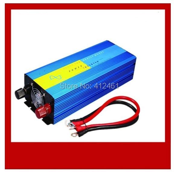 1500W 1500Watt Car Auto Pure Sine Wave Power Inverter 12V DC to 220V AC 3000 Watt Peak 60Hz Car Power Tools