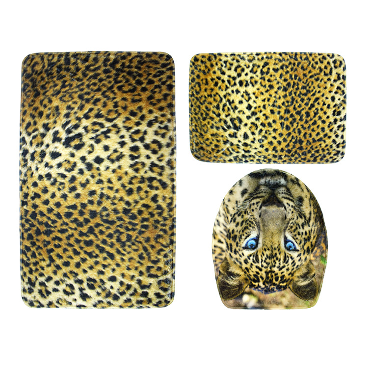 online get cheap leopard bathroom set aliexpress  alibaba group, Bathroom decor