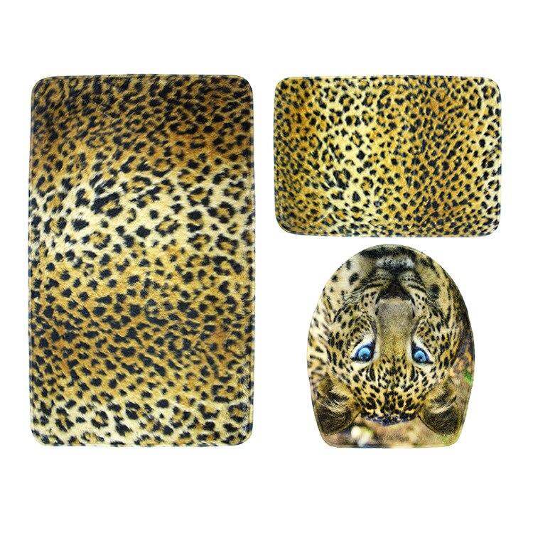 Leopard Bath Rugs