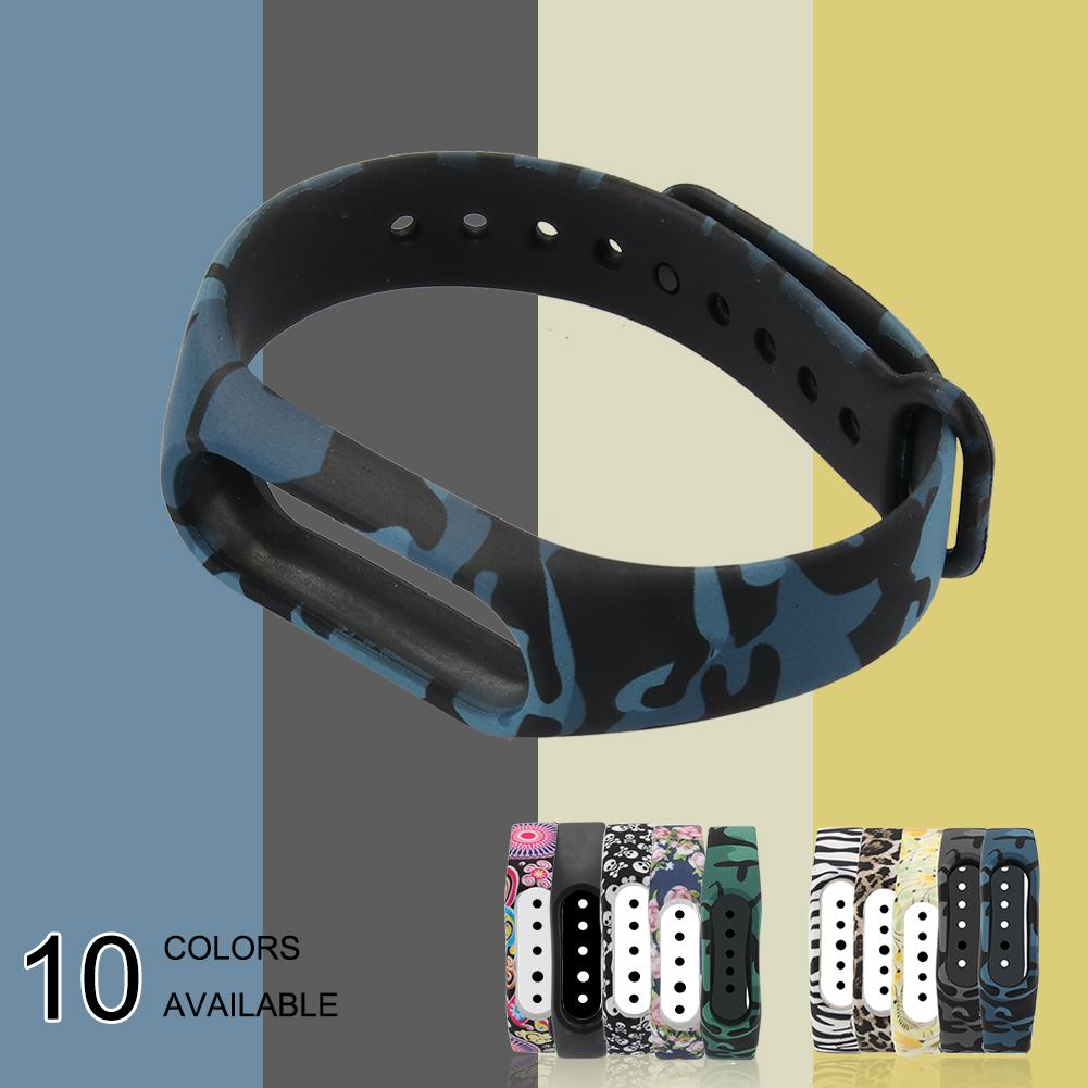 For Xiaomi Mi Band 2 Bracelet Strap Silicone black and white series miband 2 strap colorful band2 accessories replacement belt Браслет